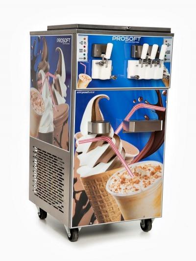 Máquina de sorvete e milk-shake SV-304