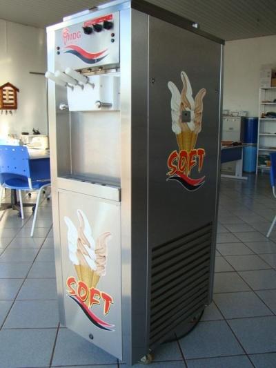 Máquina de sorvete MDG 3 Bicos - Usada